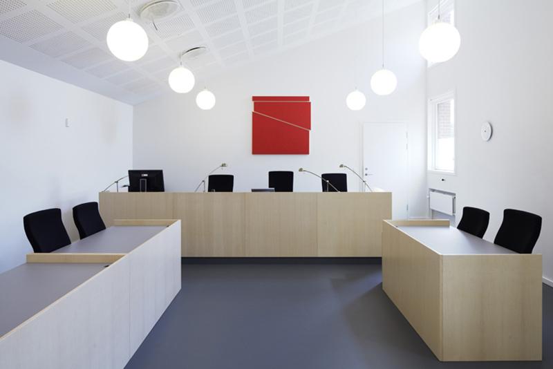 Domstolstyrelsen, WO Interior