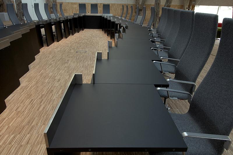 Hillerød Rådhus, WO Interior