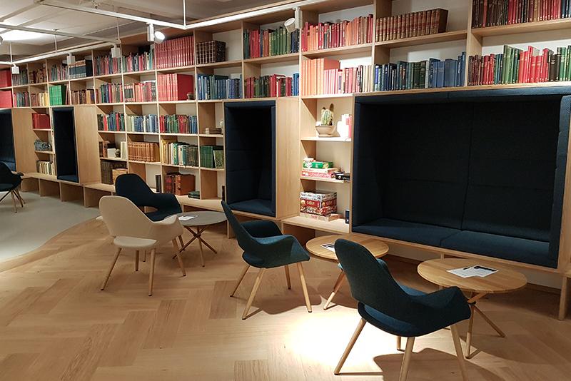 Det Kgl. Bibliotek, WO Interior